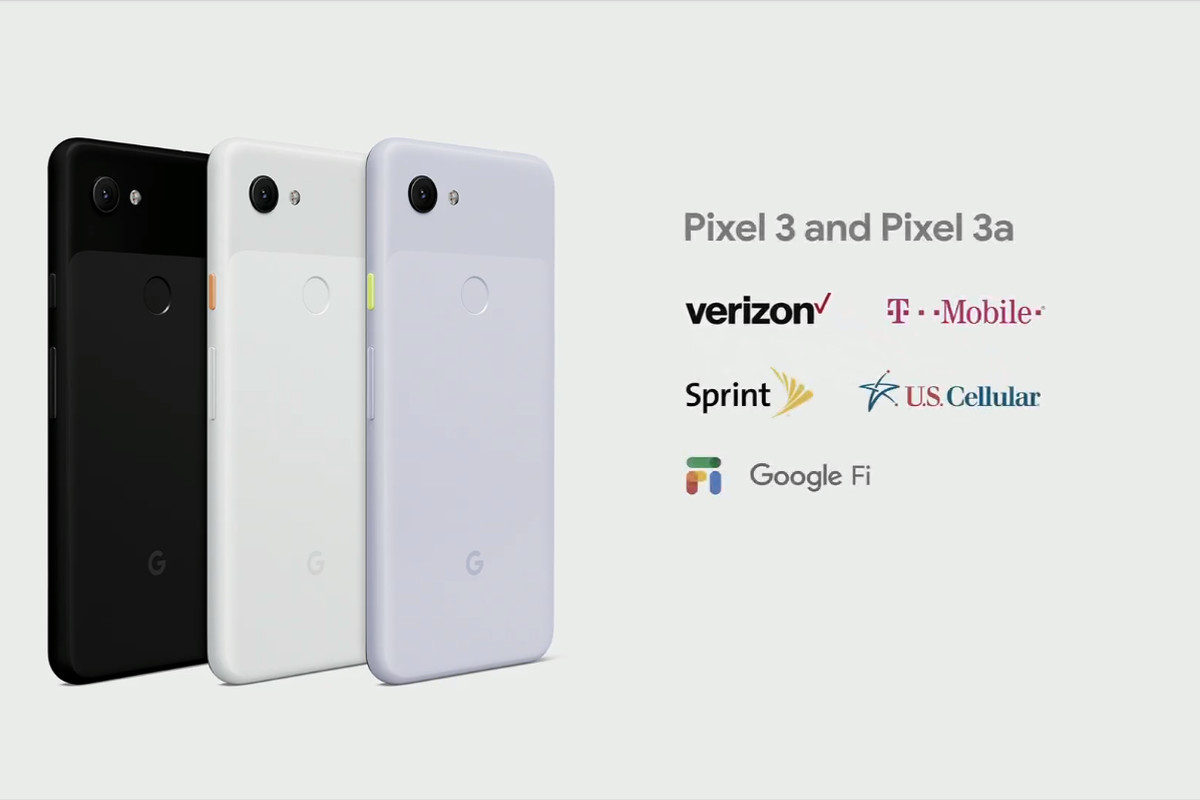 8f30deff407 Google s Pixel 3A is coming to Verizon