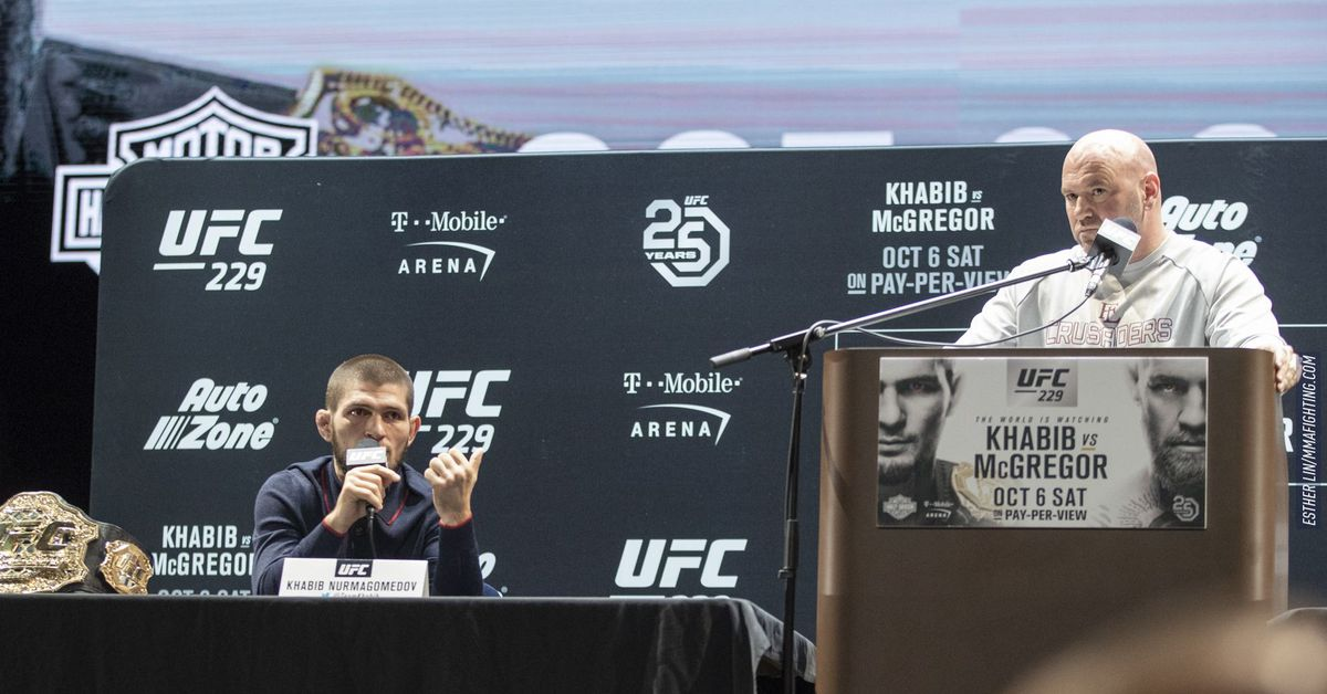 Morning Report: Dana White says Khabib Nurmagomedov will not be leaving the UFC