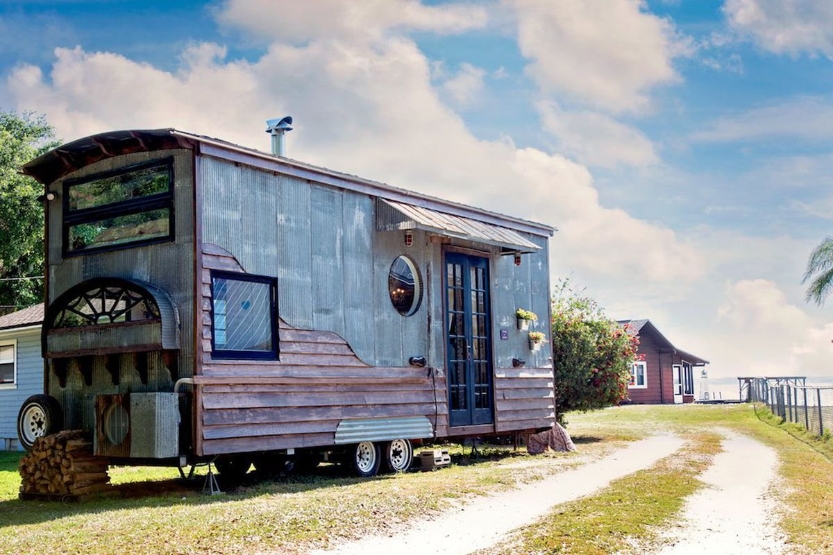 "The ""Gypsy Mermaid"" tiny house is full of delicious details. Have a look inside."
