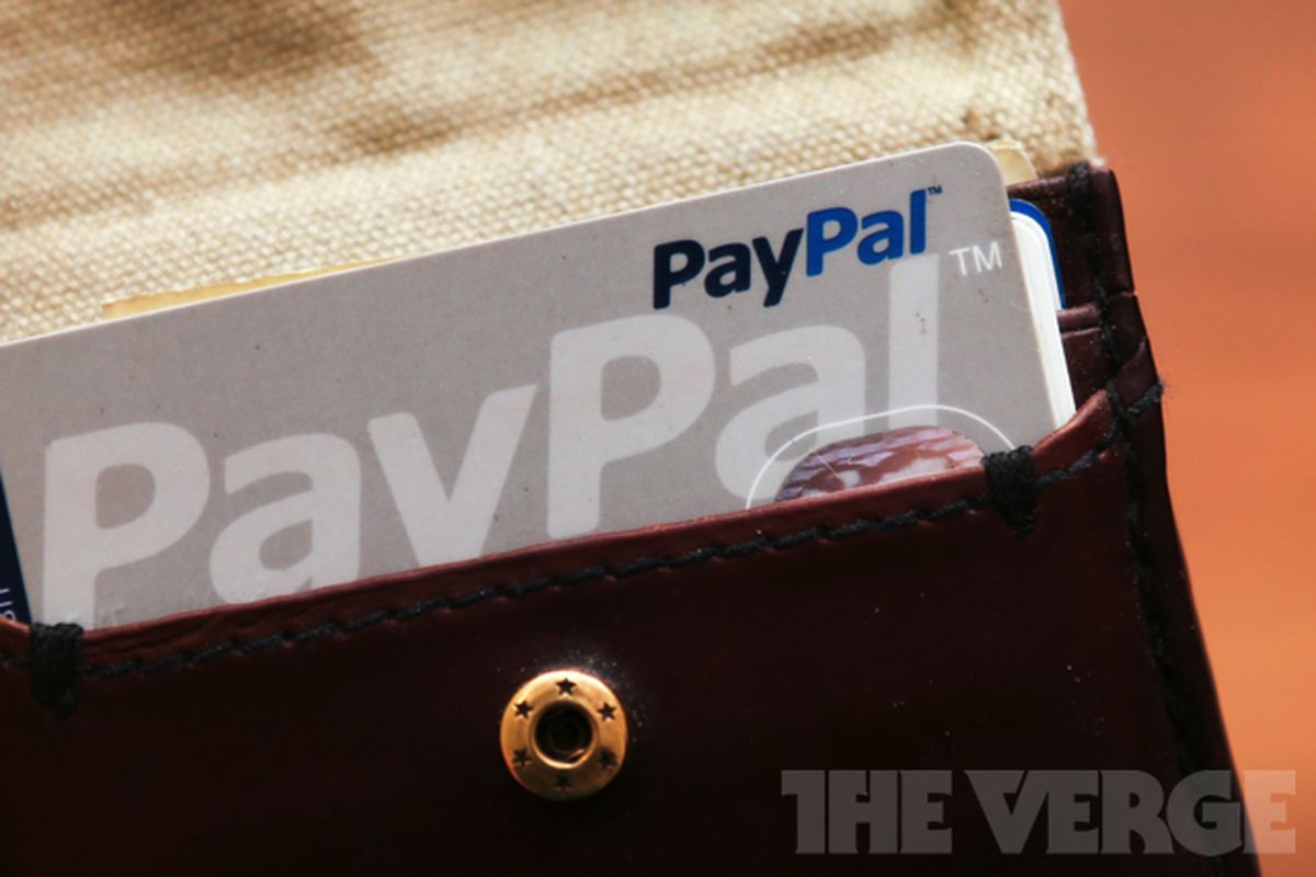 PayPal stock 640