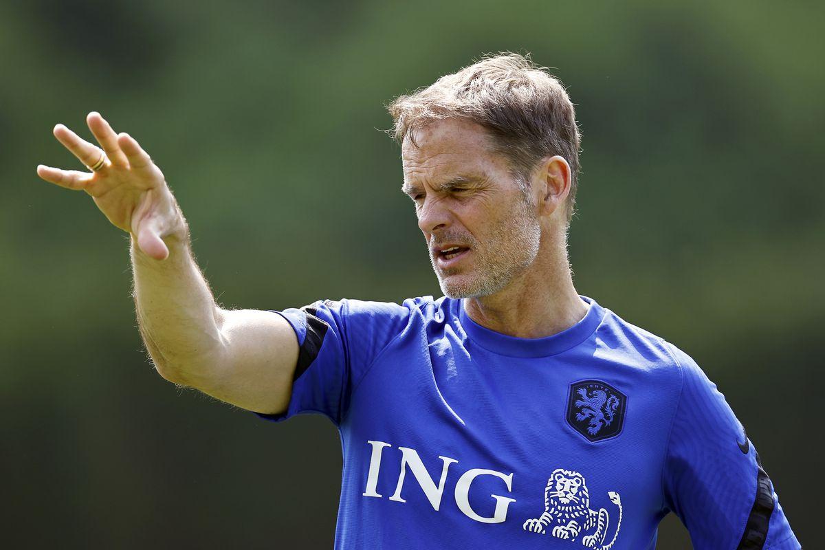 "EURO 2020""Training session Dutch national team"""