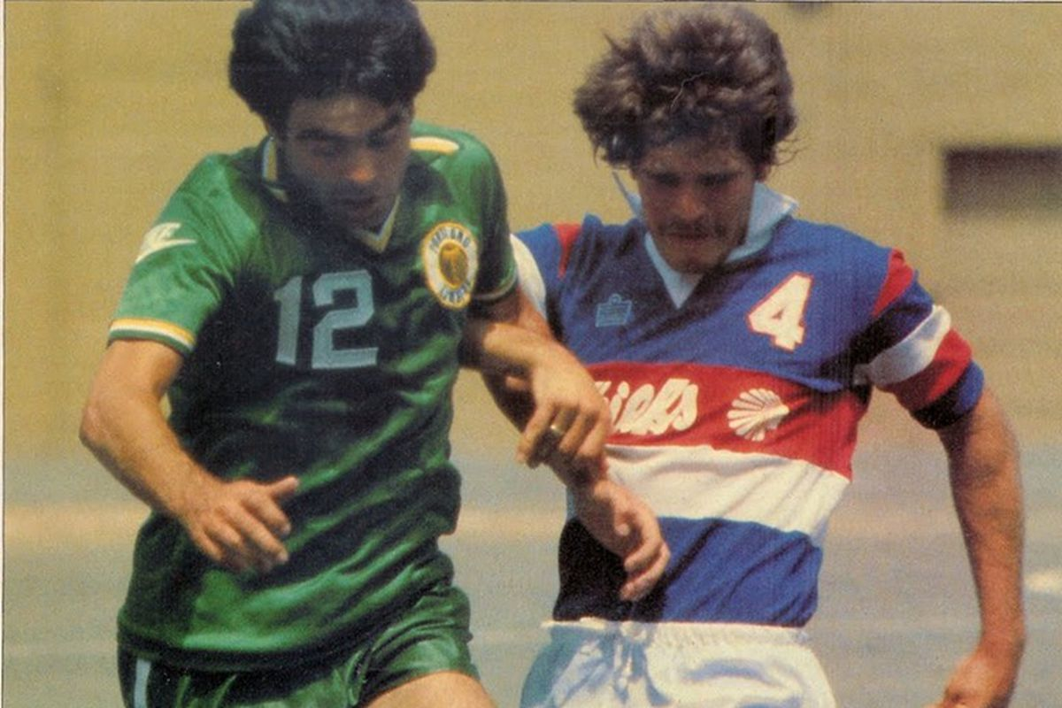Willie Anderson and the Timbers in the first ever game against the Chiefs - July 8, 1979