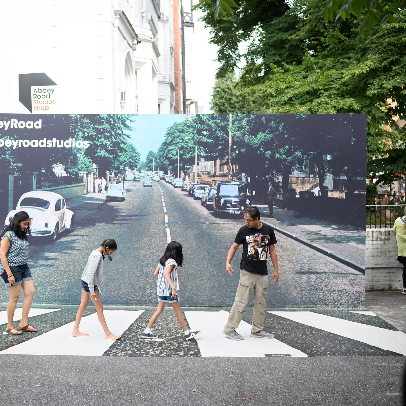 The Beatles Abbey Road The Story Behind The Cover Design Chicago Sun Times