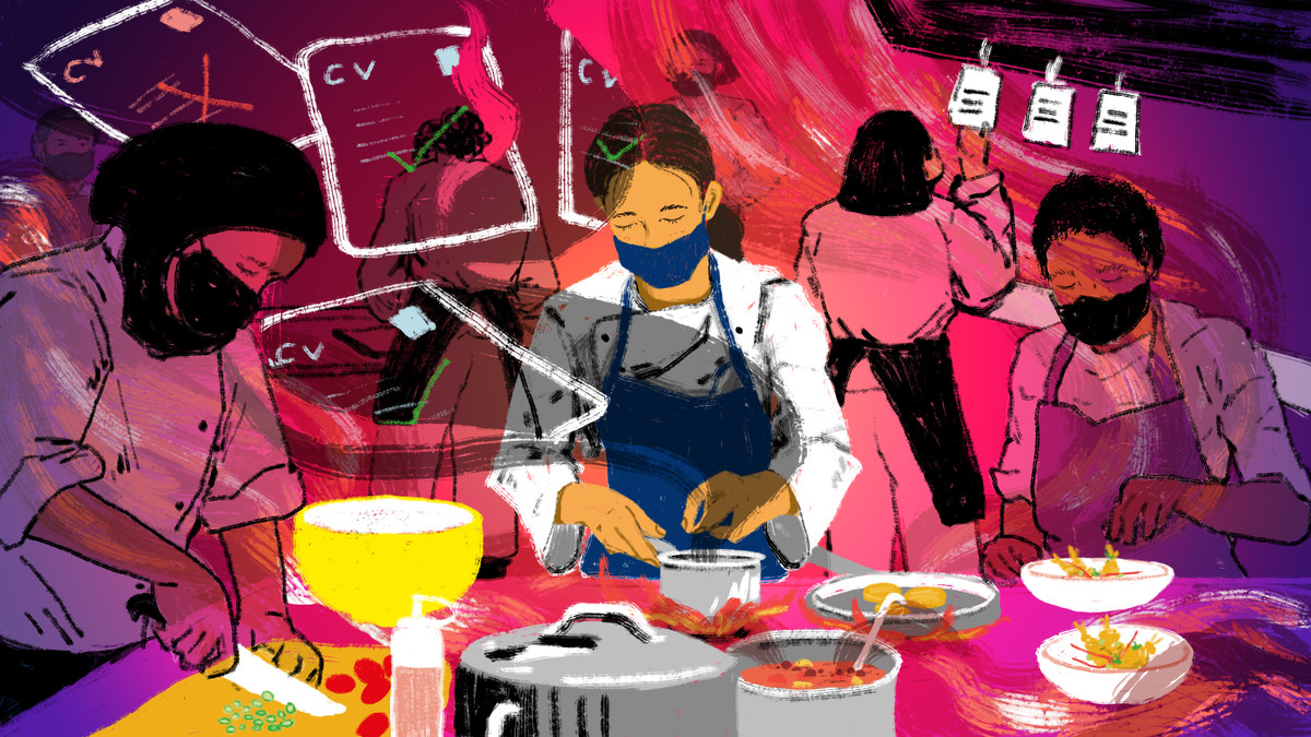 The COVID-19 pandemic has exacerbated existing inequalities in restaurants, disproportionately impacting women