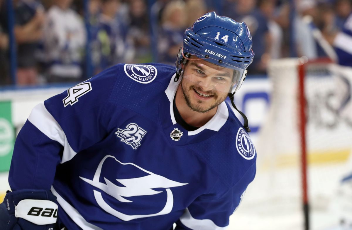 NHL: Stanley Cup Playoffs-Boston Bruins at Tampa Bay Lightning
