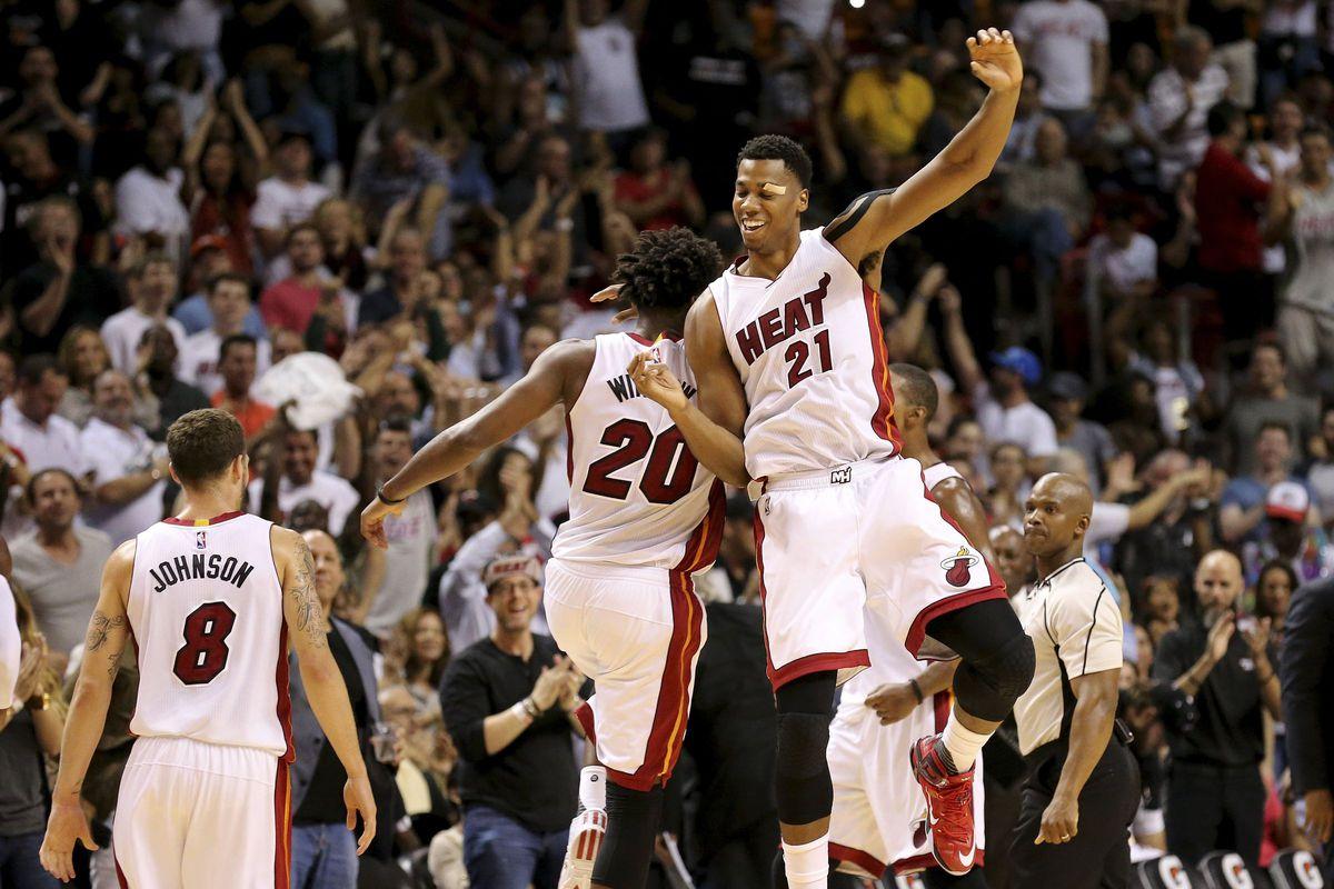 Miami Heat celebration