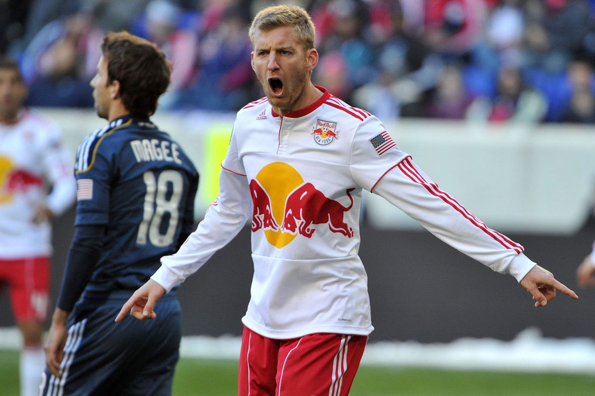 Tim Ream is leaving the New York Red Bulls for the Bolton Wanderers of the English Premiership. (Photo by Christopher Pasatieri/Getty Images)