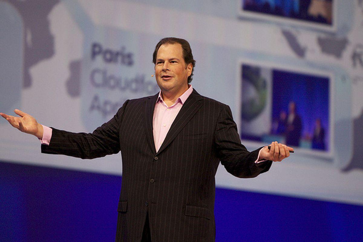 Marc Benioff's Salesforce Soars as Quarterly Sales Rise 26 Percent
