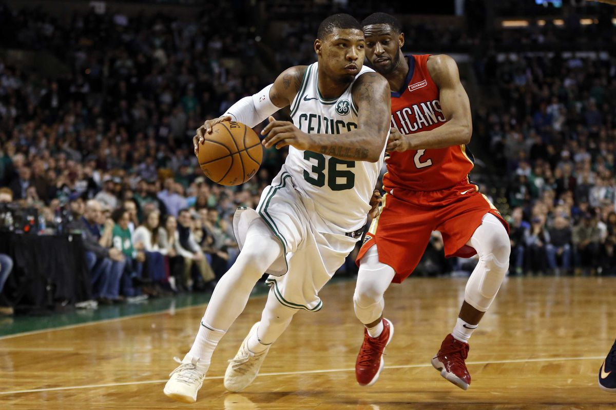 f0163315e Report  Celtics won t trade Marcus Smart if it hurts their playoff ...