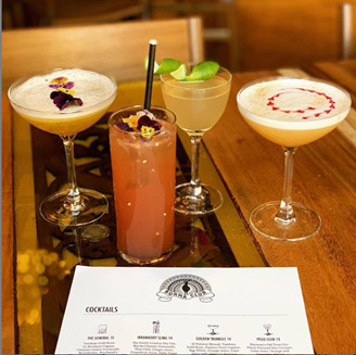 Burma Club's happy hour options