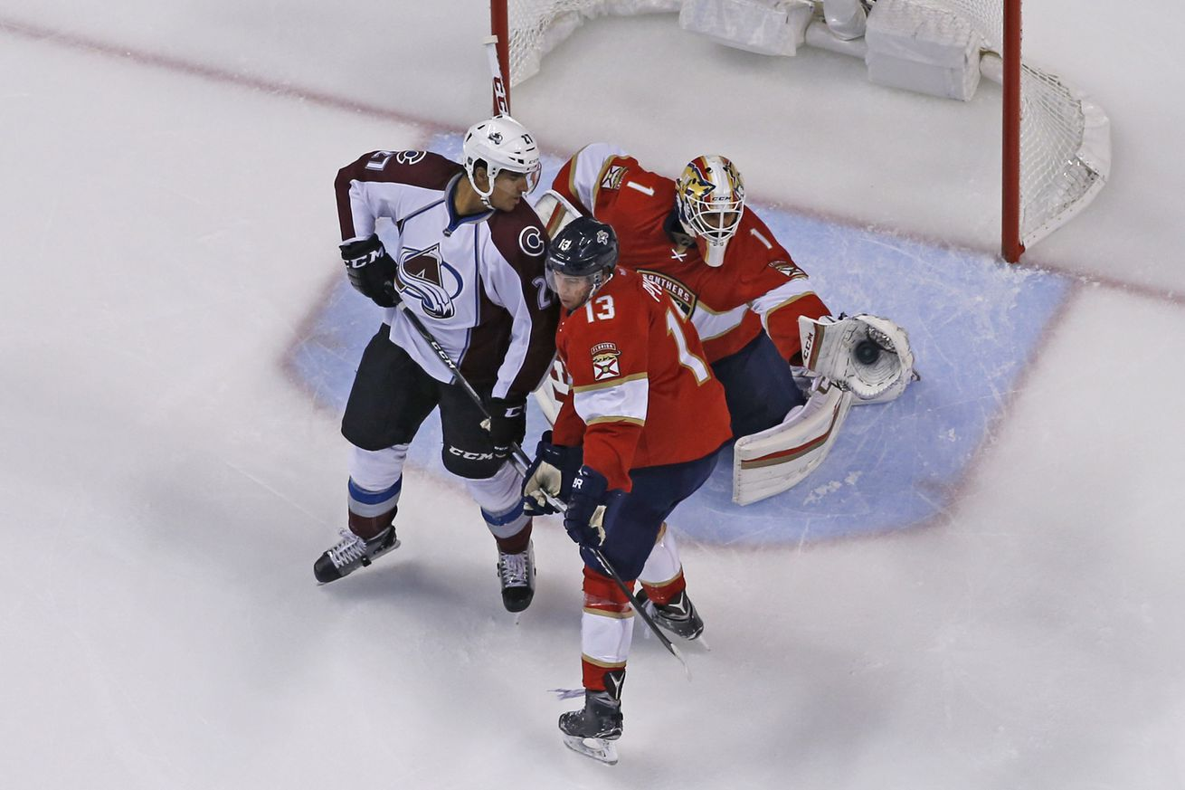 Image result for florida panthers vs colorado avalanche