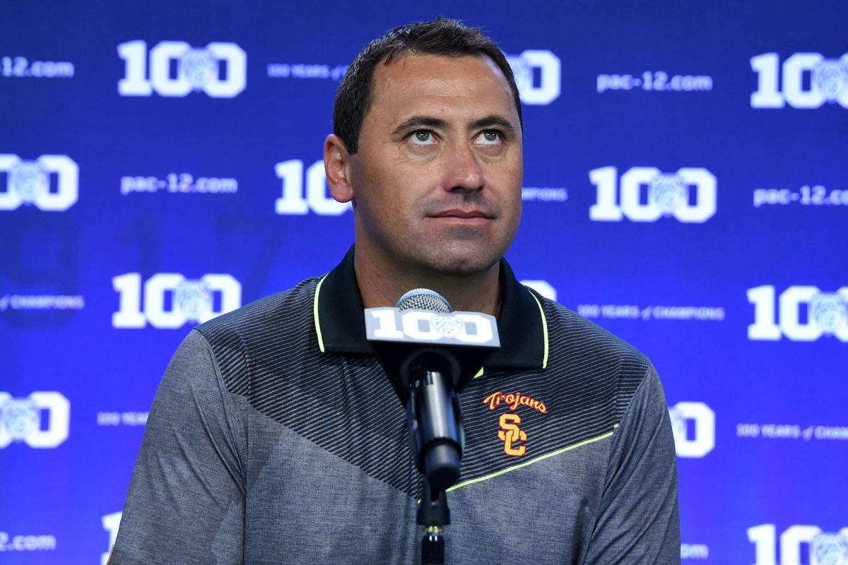 USC players made Steve Sarkisian do up-downs as punishment for drunk