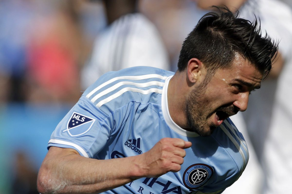 David Villa came up big in the double, will he still grace your side?