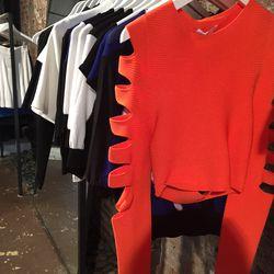 Cushnie et Ochs Rayon Viscoe Knit Crop ($385)