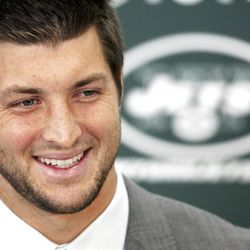 An avowed Christian, Tim Tebow now embarks on his first season as a New York Jets quarterback.