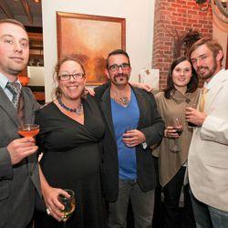 Stephen and Melissa Gallic, Sean Kenyon, Lindsey and Jorel Pierce