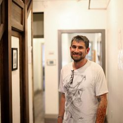 Dan Davidson is a recovering drug addict who counsels clients at Odyssey House, a drug and alcohol rehabilitation facility, in Salt Lake City. Photo taken at Odyssey House on Friday, Jan. 29, 2016.