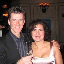 Laurent Gras and Jennifer Leuzzi