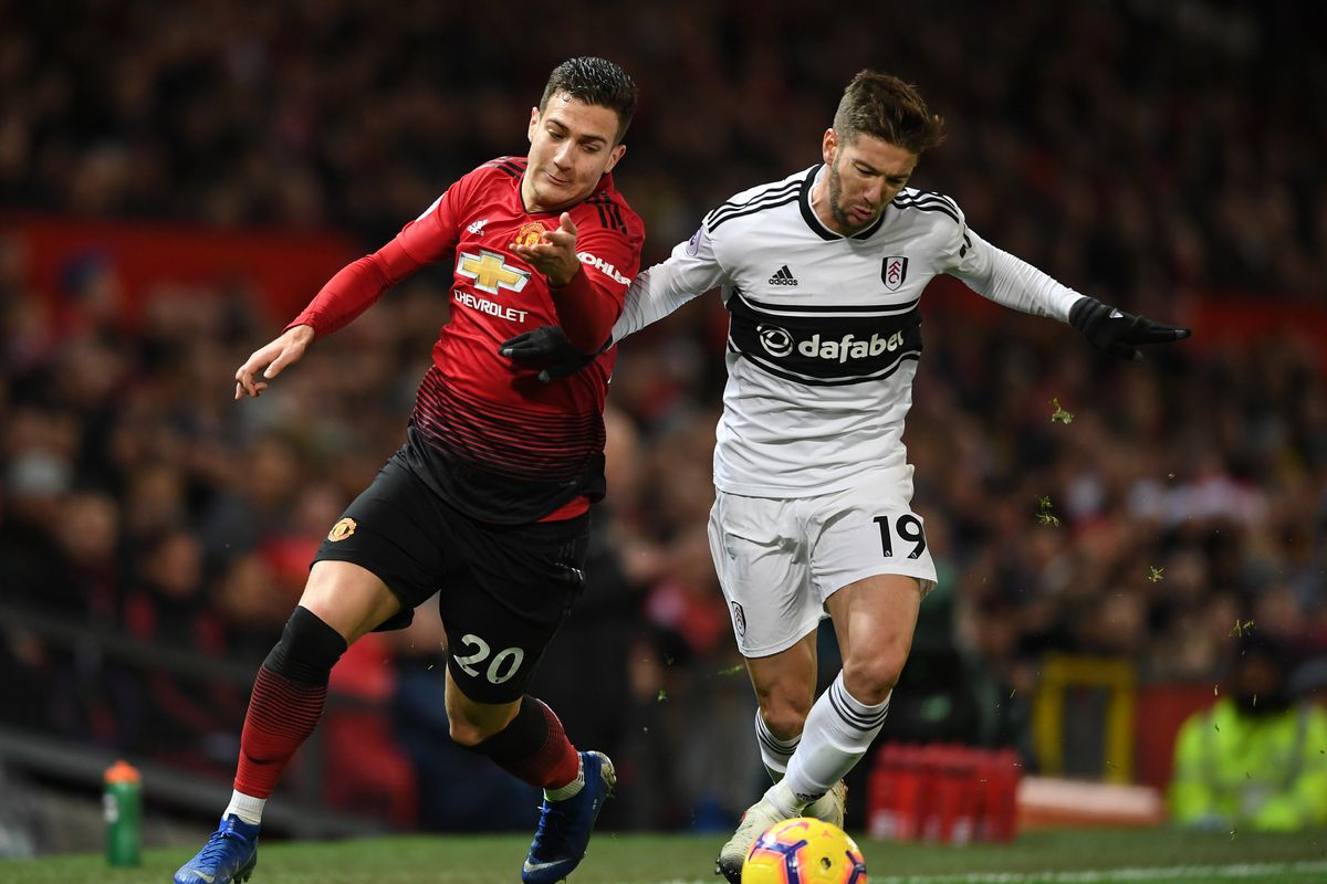 Kết quả hình ảnh cho Fulham vs Man Utd