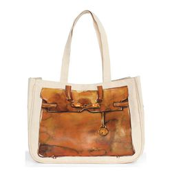 """Weekend by Thursday Friday everyday tote in pastel brown, $48 at <a href=""""http://www.thufri.com/collections/weekend/products/copy-of-everyday-tote-pastel-brown"""">Thursday Friday</a>"""