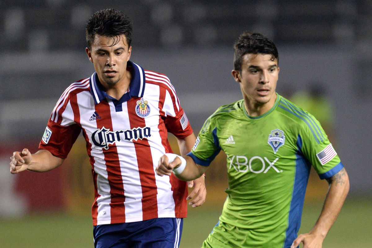 Carrasco: Stepping up for the Sounders