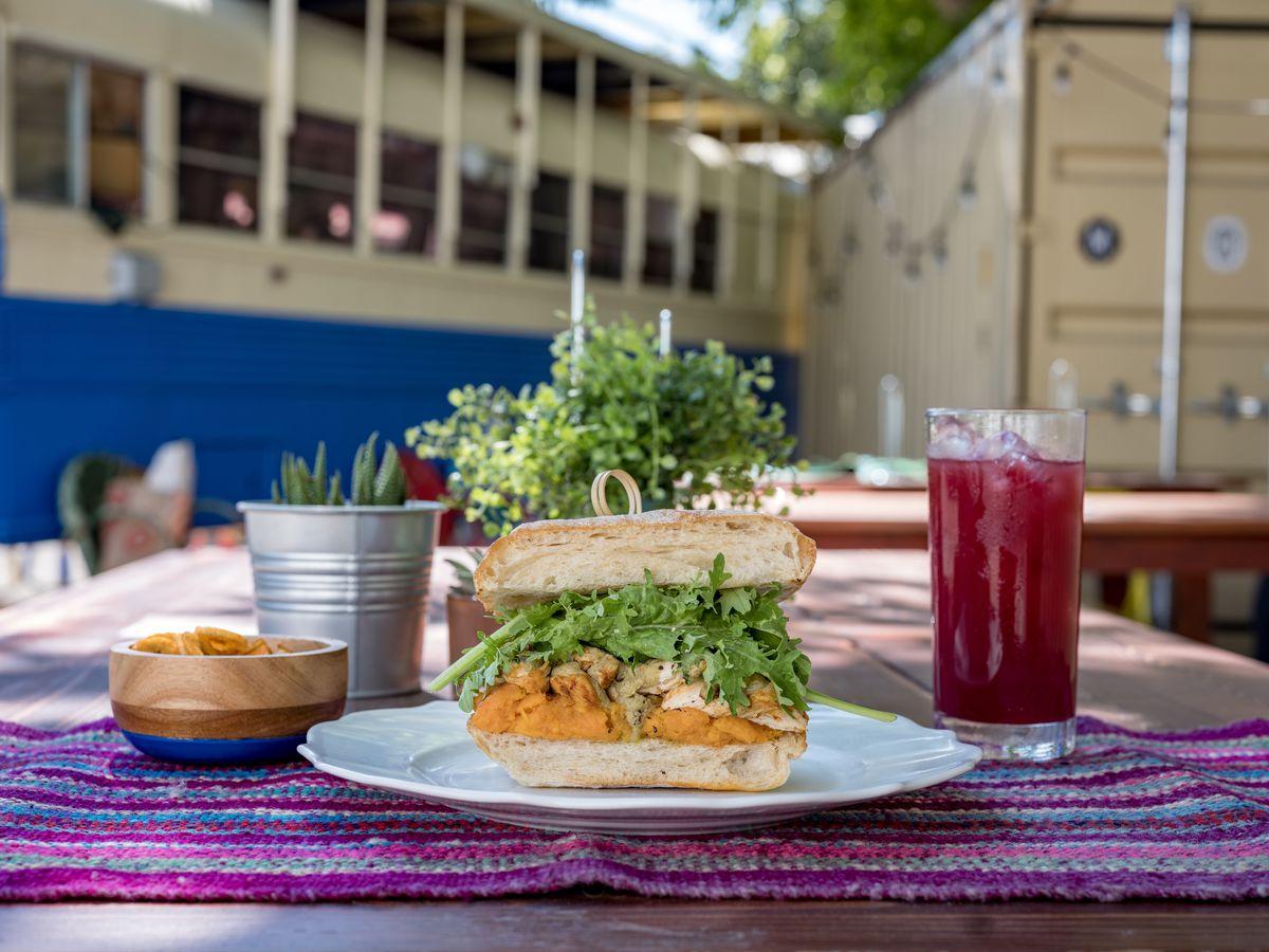 Killa Wasi's Texas brasa sandwich