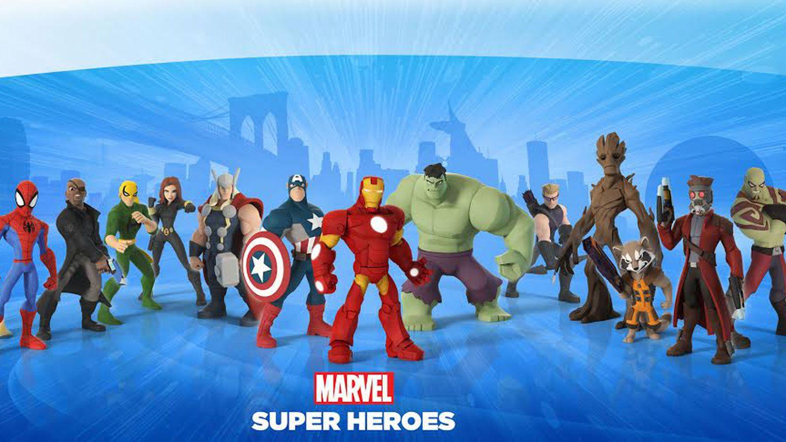 disney infinity marvel super heroes arrives sept 23 polygon. Black Bedroom Furniture Sets. Home Design Ideas