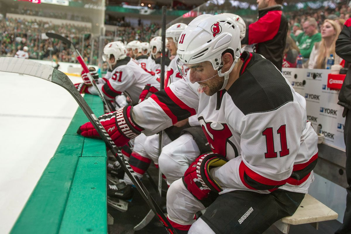 Get ready for more shots like this if the Devils want to go down in the standings.