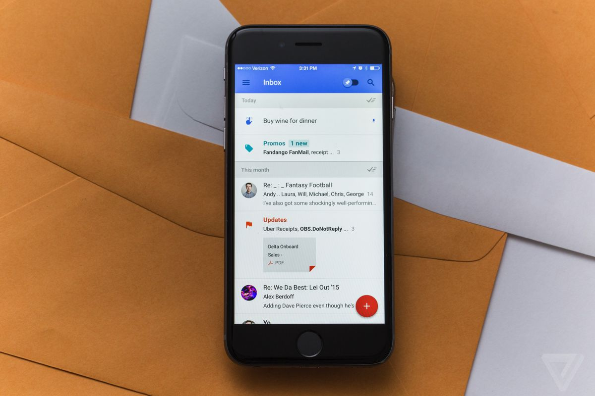 Google's Inbox app is shutting down in March 2019 - The Verge