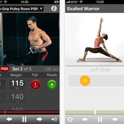 """<b><a href=""""http://gainfitness.com/"""">Gain Fitness:</a></b> Expansive workout generator from prenatal yoga to strength building to interval workouts to circuit training <br></br>  <b>Great for:</b> Trying new things. A lot of new things.<br></br> <b>Feat"""