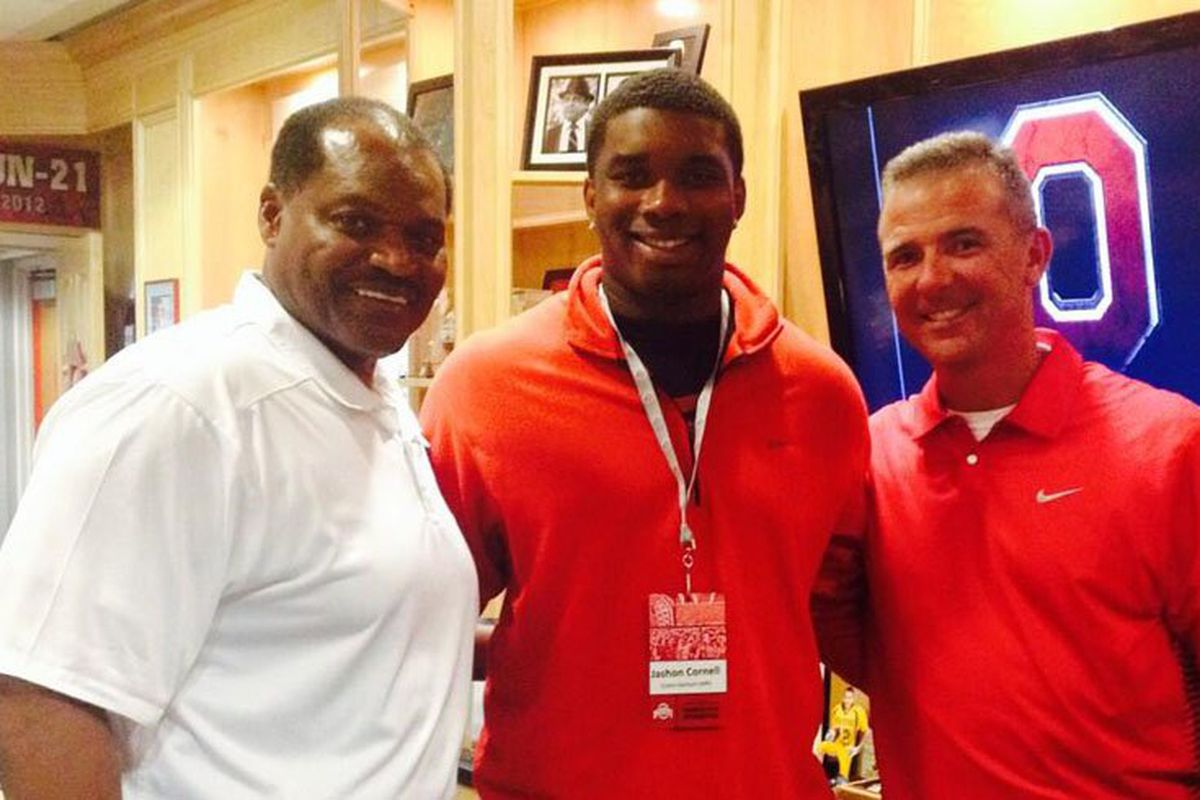 Jashon Cornell is just one of the many future Buckeyes officially visiting this weekend.
