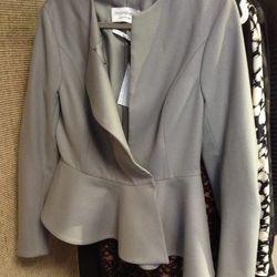 Yves Saint Laurent peplum jacket