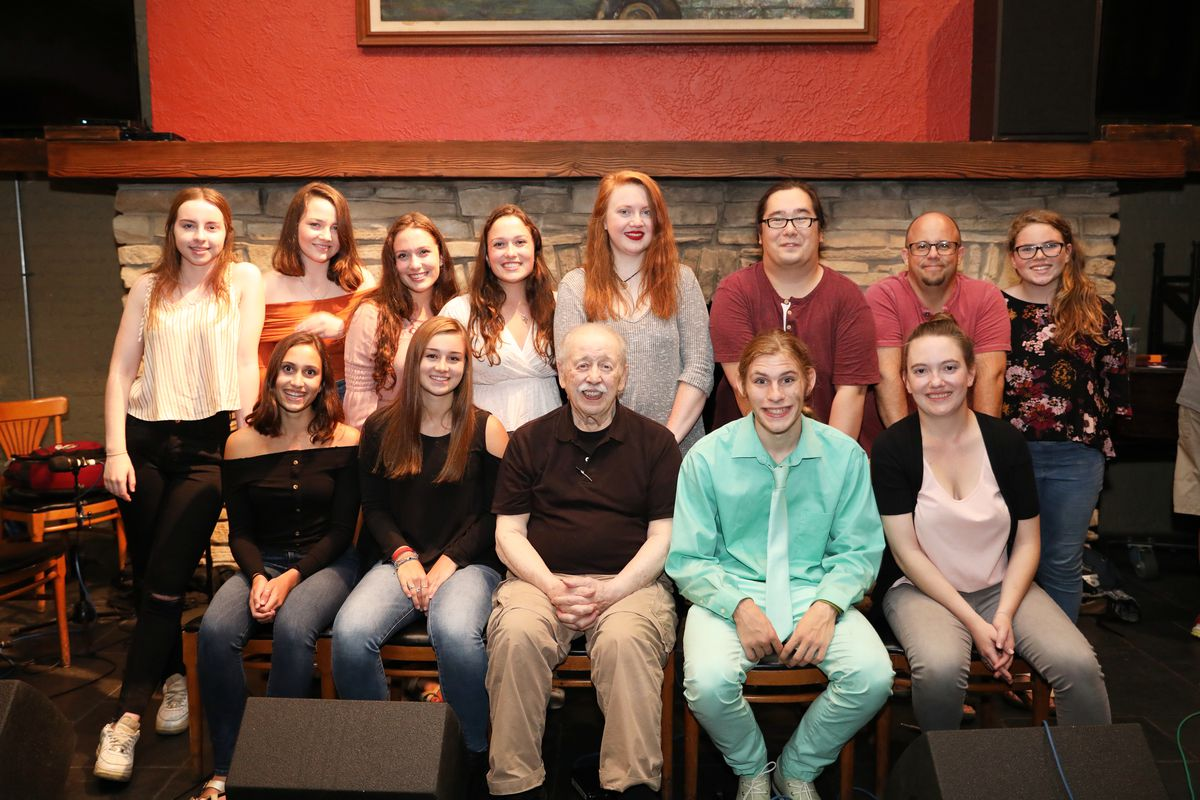 Noel Rice and some of his students from the Academy of Irish Music. | Stacy McReynolds photo