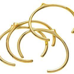 Jennifer Fisher brass peak cuff
