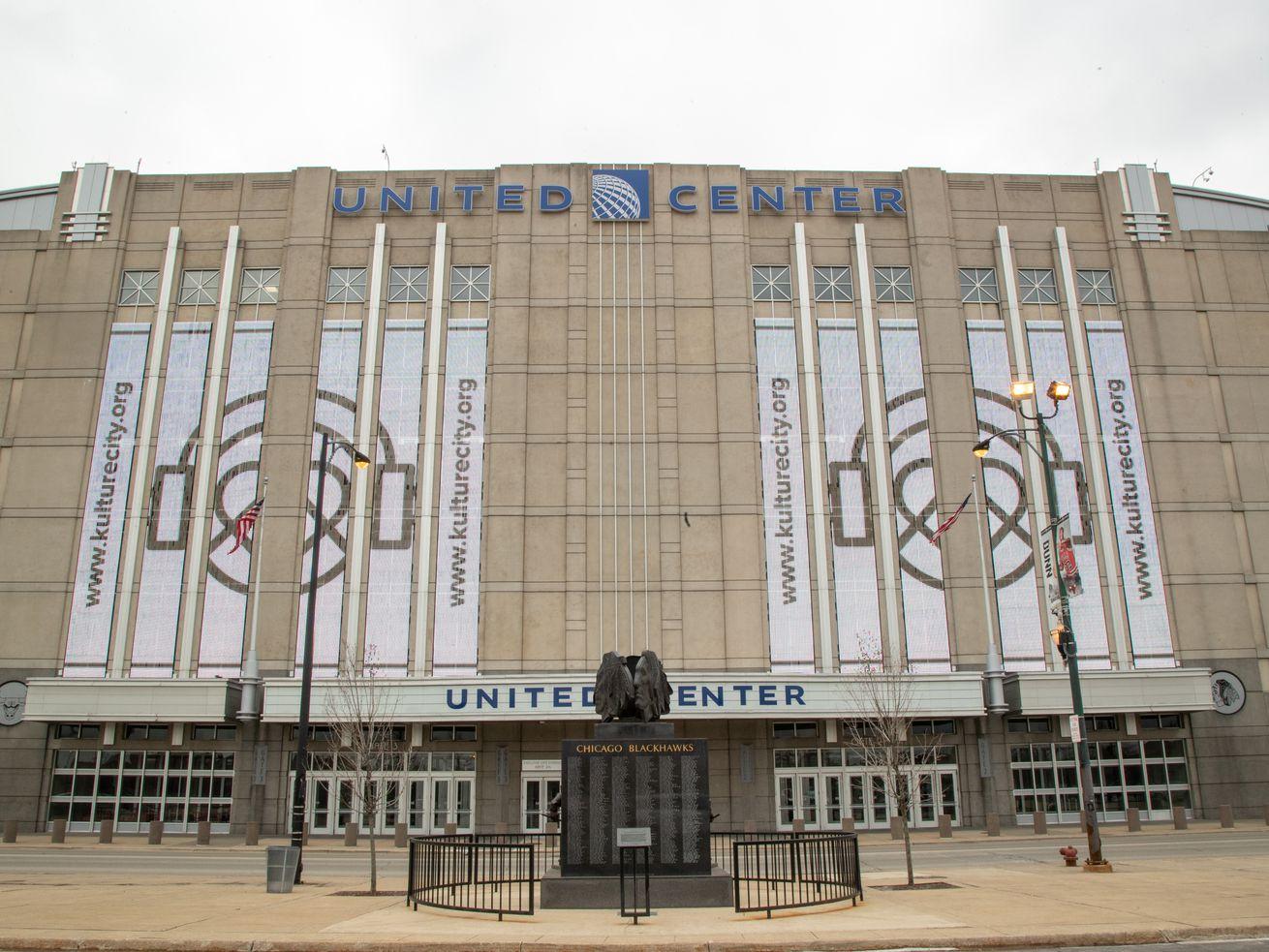 United Center in Chicago