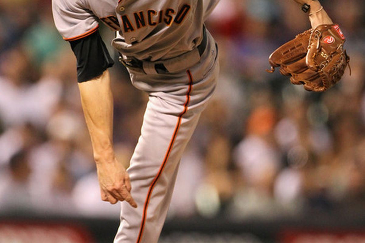 Tim Lincecum spends at least 90% of his time on the mound thinking about his plans to smirch the good name of the entire Rockies organization