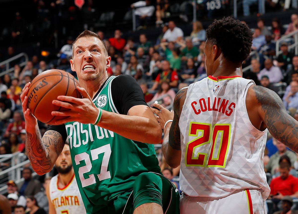 Boston Celtics rookie Daniel Theis