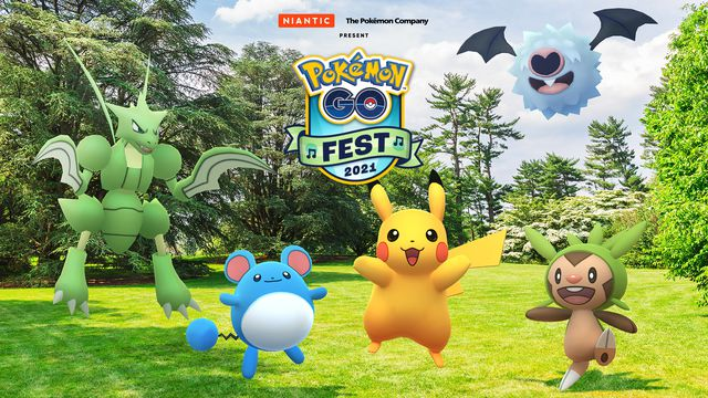 Pokémon Go Fest returns with an online celebration this July