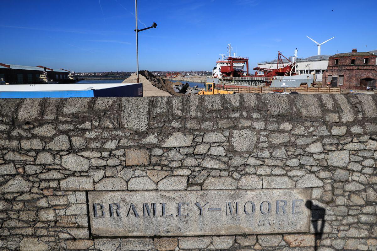 Proposed Site of Everton's New Stadium - Bramley Moore Dock