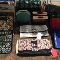 Clutches and evening bags, starting at $100