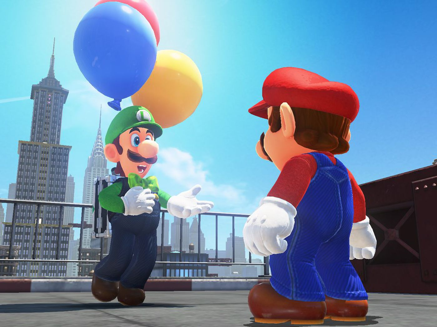 Super Mario Odyssey's first DLC is now available — time for Luigi