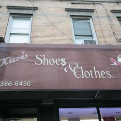 """<b>↑</b><b><a href="""" https://www.facebook.com/pages/Kiaras-Shoes/118760074841470"""">Kiara's Shoes</a></b> (5912 Stephen Street) is Ridgewood's go-to for affordable, on-trend footwear. Expect a good mix of classic shoe closet staples and more stand-out piece"""