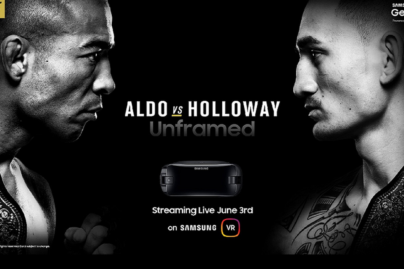 community news, Samsung to stream UFC 212 in virtual reality
