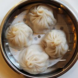 """Shanghainese Pork Soup Dumplings from Nom Wah Tea Parlor by <a href=""""http://www.flickr.com/photos/bradleyhawks/8654949525/in/pool-eater/"""">Amuse * Bouche</a>"""