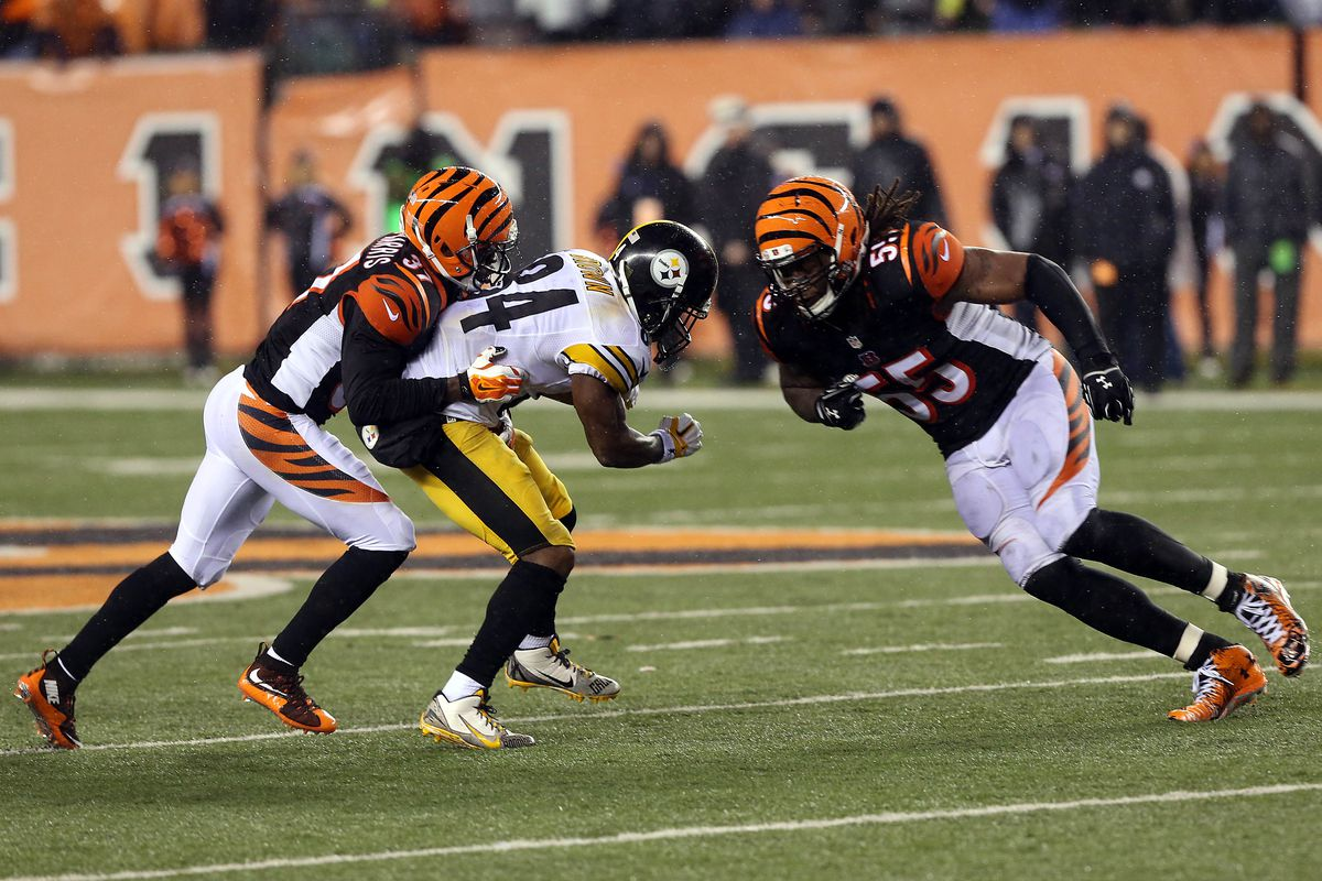 watch 15e9b 74e79 Can Antonio Brown, Vontaze Burfict REALLY put bad blood ...