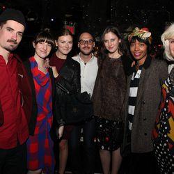 The adorable Bird Team: Jack Sachs, Catherine Lerer, Lily Thorne, Chris Sans, Monique Beasley, Starett Ringbom, and Sara Coccioletti