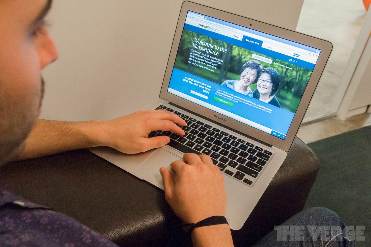 Obamacare Healthcare.gov website (STOCK)