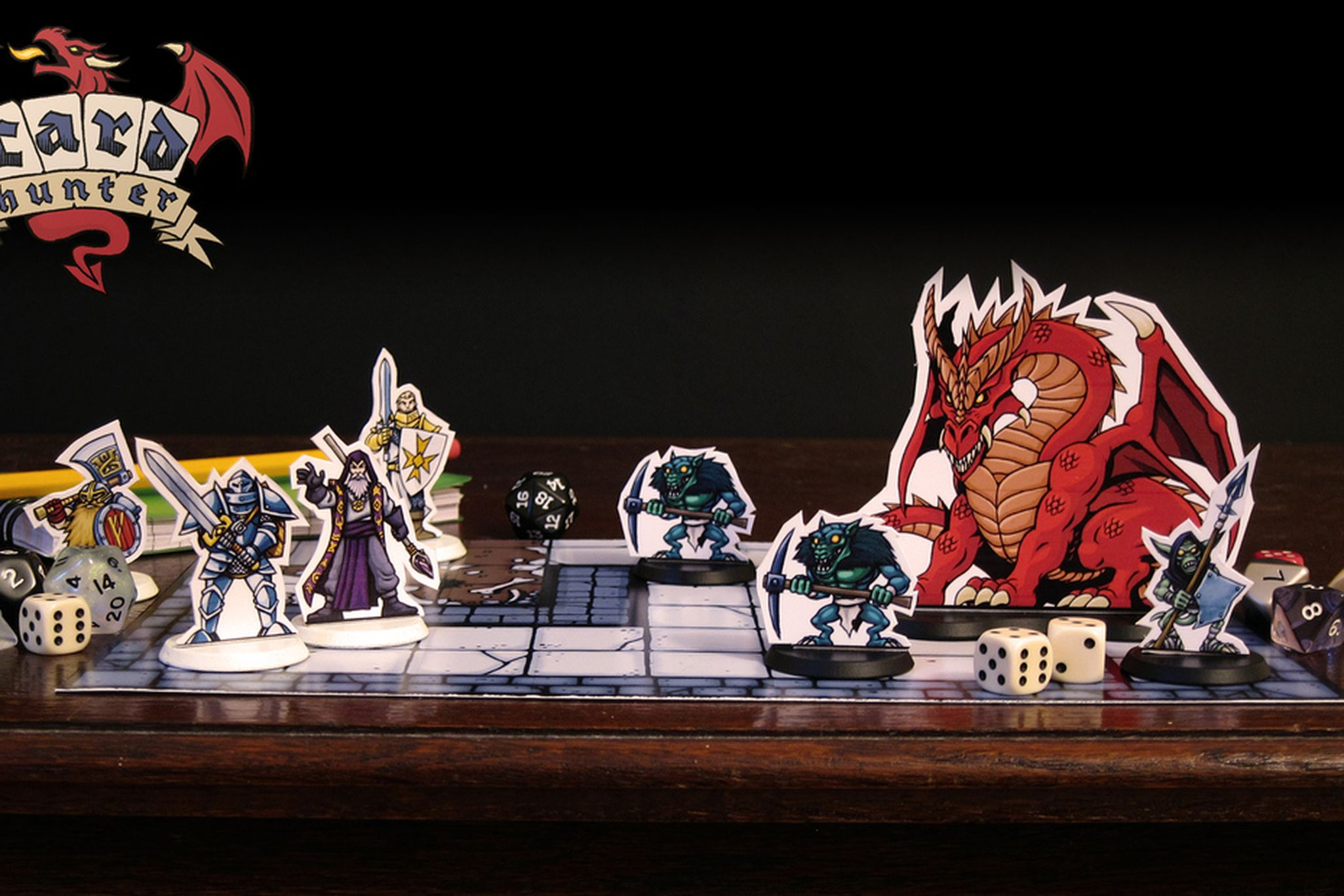 Card Hunter' is the next great board game, and it's all in
