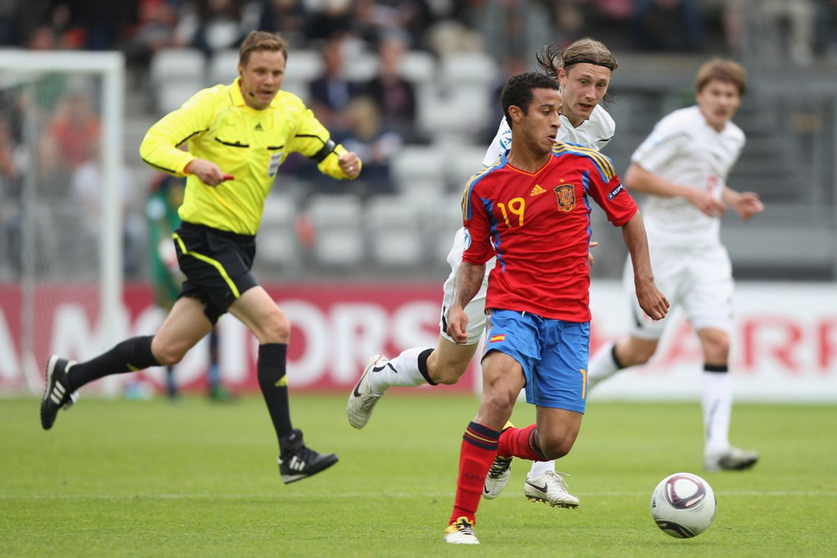 Thiago has now caught the eye of Vicente del Bosque