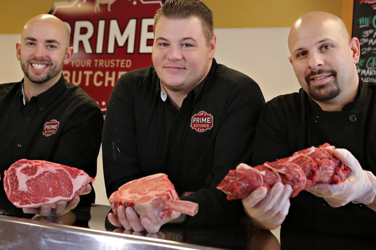 The meat counter at PRIME